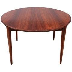 Mid-Century Modern Dining Table by Harry Rosengren Hansen for Brande Møbelindust