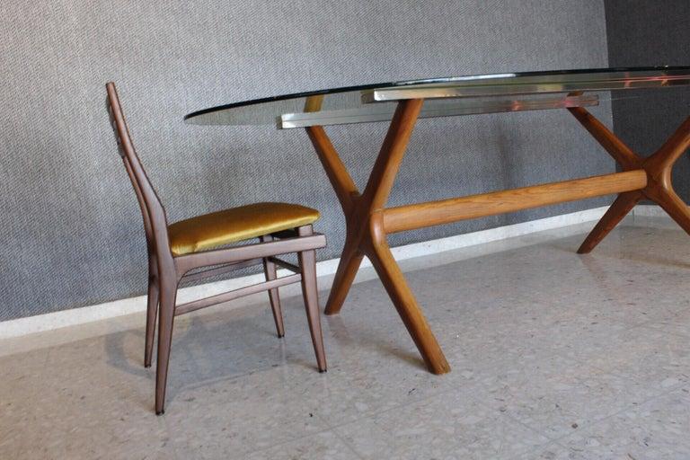 Mid-Century Modern Dining Table 3