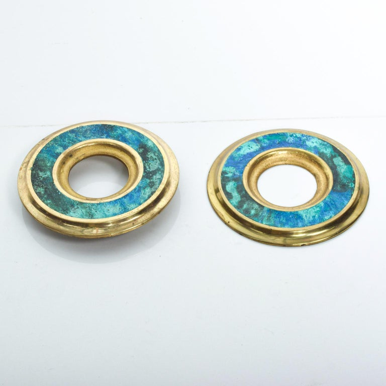 Mid-Century Modern Door Ring Pulls by Pepe Mendoza Mexican Modernist In Good Condition For Sale In National City, CA