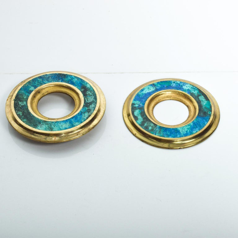 Mid-Century Modern Door Ring Pulls by Pepe Mendoza Mexican Modernist For Sale 1