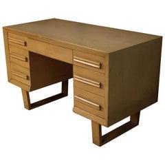 Mid-Century Modern Double Pedestal Desk