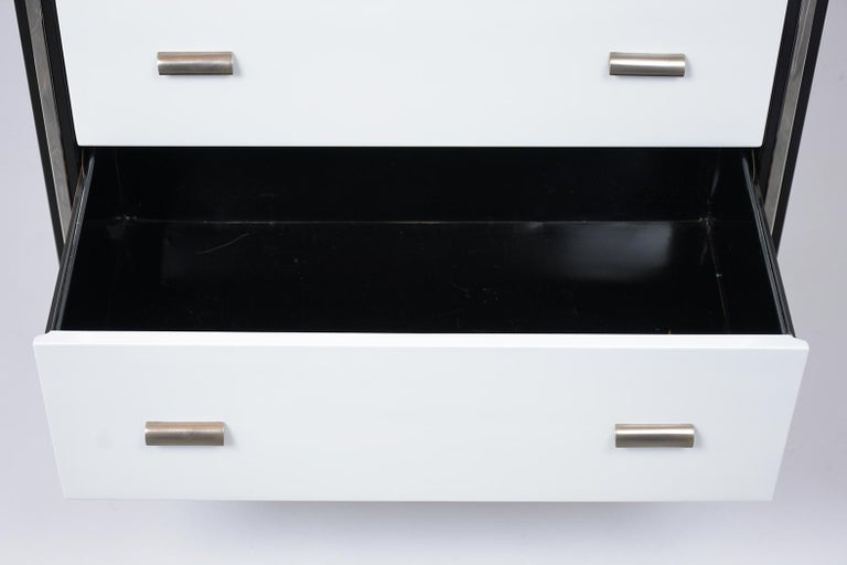 Mid-20th Century 1960's Mid-Century Modern Lacquered Chest of Drawers For Sale