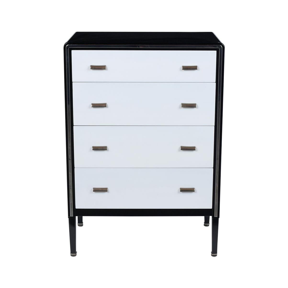 1960's Mid-Century Modern Lacquered Chest of Drawers
