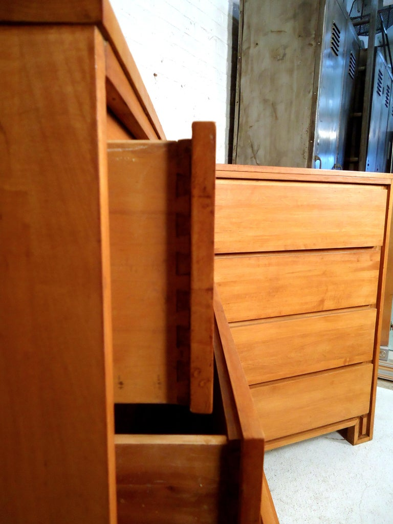 Wood Mid-Century Modern Dresser