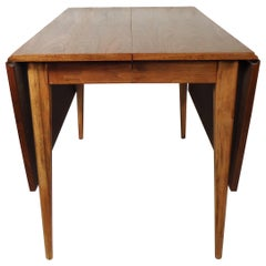 Mid-Century Modern Drop-Leaf Table