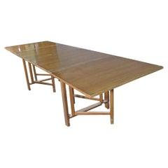 Mid-Century Modern Drop Leaf Table in Walnut