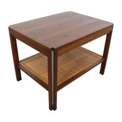 Mid-Century Modern Dunbar Walnut End/Side Table