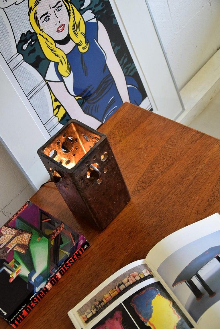 Mid-20th Century Mid-Century Modern Dutch Ceramic Table Lamp For Sale