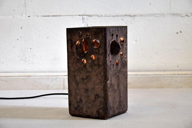Mid-Century Modern Dutch Ceramic Table Lamp For Sale 1