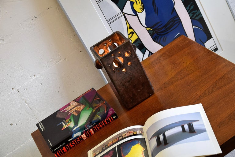 Mid-Century Modern Dutch Ceramic Table Lamp For Sale 3