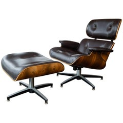 Mid-Century Modern Eames Style Lounge Chair