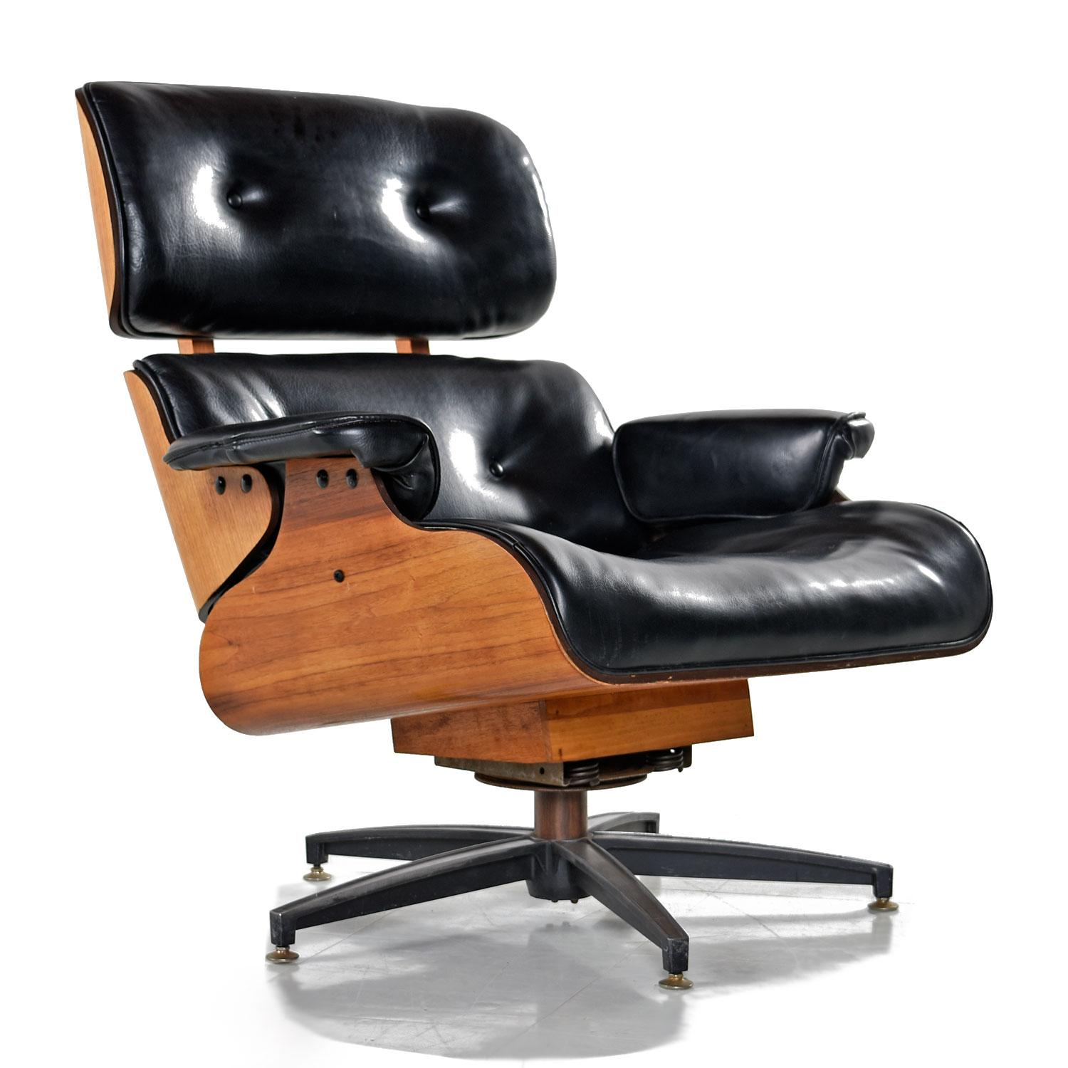 Marvelous Mid Century Modern Eames Style Recliner Made In Canada Gamerscity Chair Design For Home Gamerscityorg