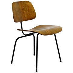 Mid-Century Modern Early Ash Eames for Herman Miller DCM Side Chair, 1950s