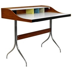 Mid-Century Modern Early Production George Nelson Herman Miller Swag Leg Desk