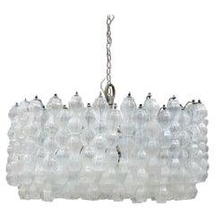 Mid-Century Modern Edited by Venini Italian Ceiling Lamp