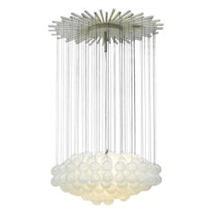 Mid-Century Modern Edited by Zeroquattro Murano Glass Italian Pendant Lamp