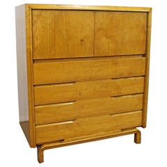 Mid-Century Modern Edmond J. Spence Tall Chest Dresser