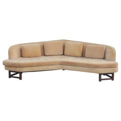 "Mid-Century Modern Edward Wormley for Dunbar Angled ""Janus"" Sofa Model 6329"