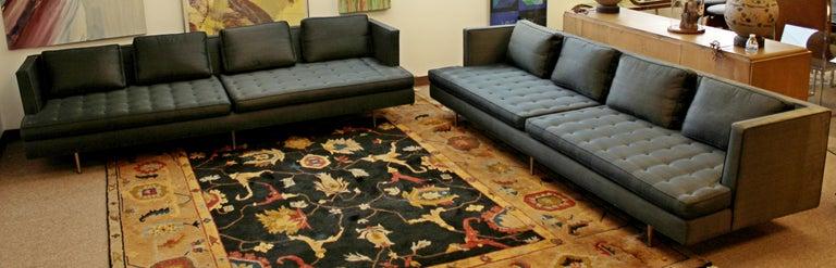 Mid-20th Century Mid-Century Modern Edward Wormley for Dunbar Chamberlain Model 4907a Sofa For Sale