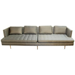 Mid-Century Modern Edward Wormley for Dunbar Chamberlain Model 4907a Sofa