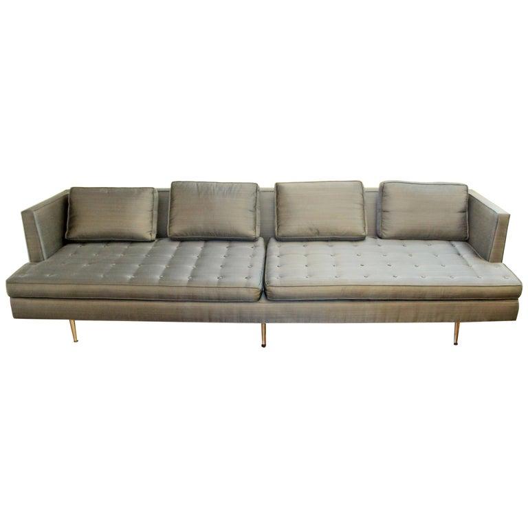 Mid-Century Modern Edward Wormley for Dunbar Chamberlain Model 4907a Sofa For Sale