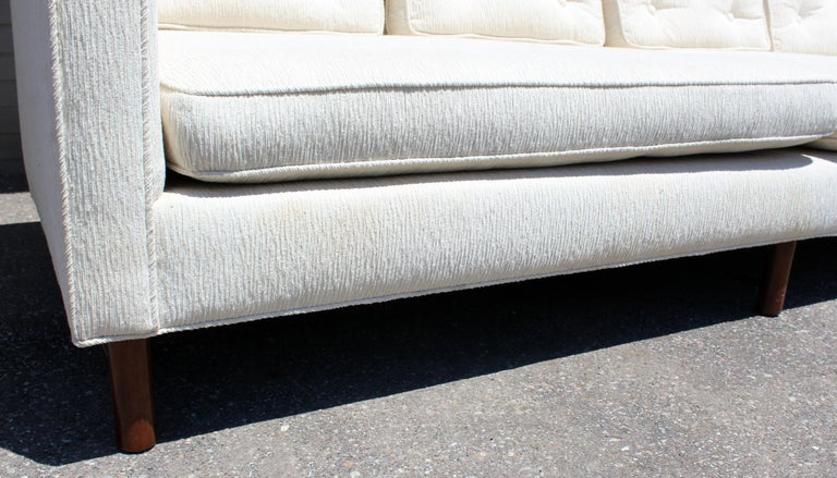 Upholstery Mid-Century Modern Edward Wormley for Dunbar Model #4907 Sofa For Sale
