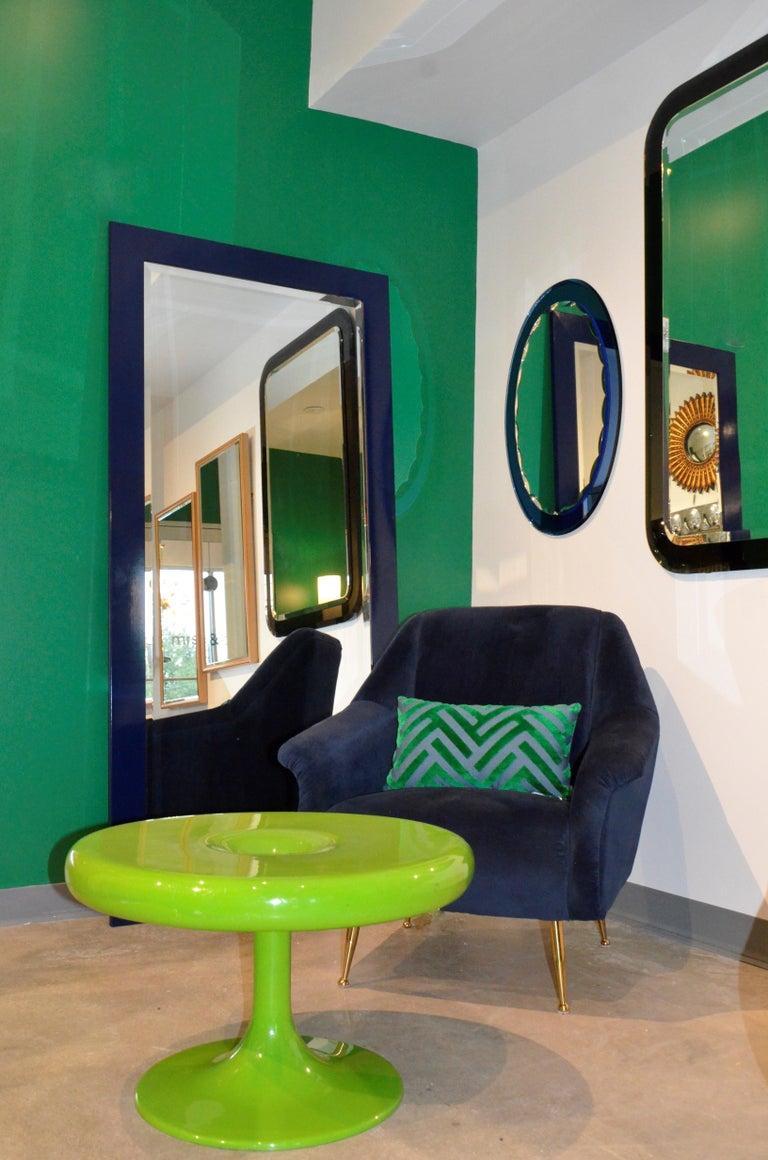 Eero Aarnio Kantarelli Molded Plastic Green Fiberglass Occasional Side Table For Sale 14