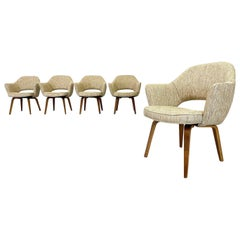 Mid-Century Modern Eero Saarinen Executive Chairs, Knoll