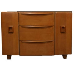 Mid-Century Modern Encore Sideboard by Heywood Wakefield in Wheat, 20th Century