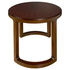 Mid-Century Modern End Table Designed by E.Wormley for Dunbar, Original Label