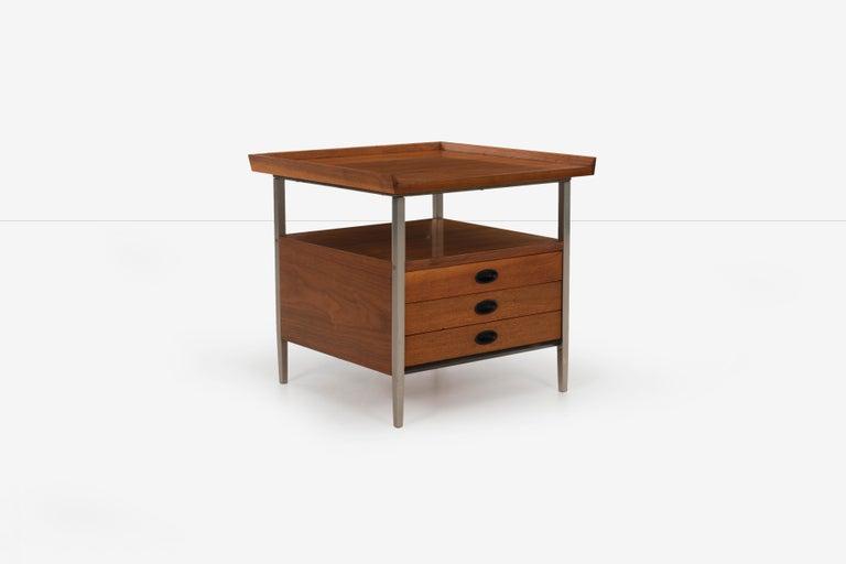 Danish Mid-Century Modern End Table Finn Juhl Style For Sale