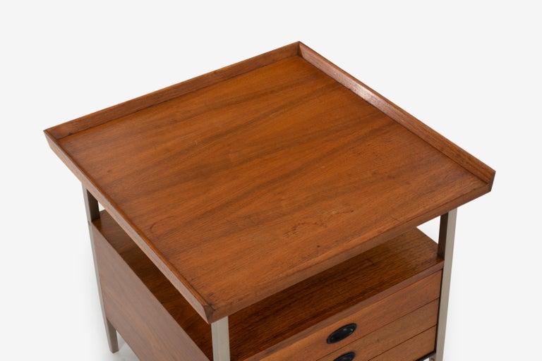Mid-Century Modern End Table Finn Juhl Style For Sale 2