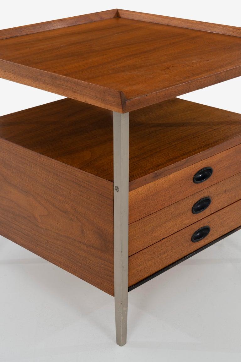 Mid-Century Modern End Table Finn Juhl Style For Sale 3
