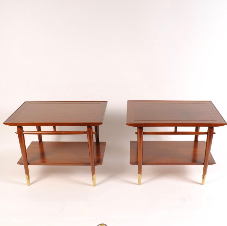 Mid-Century Modern End Tables by Lane For Sale 1