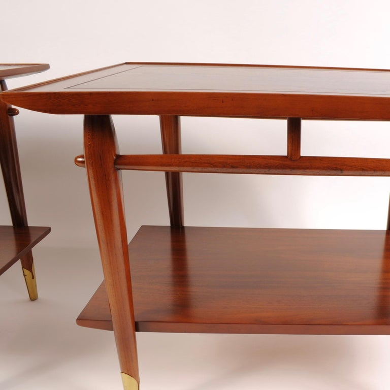 Mid-Century Modern End Tables by Lane For Sale 2