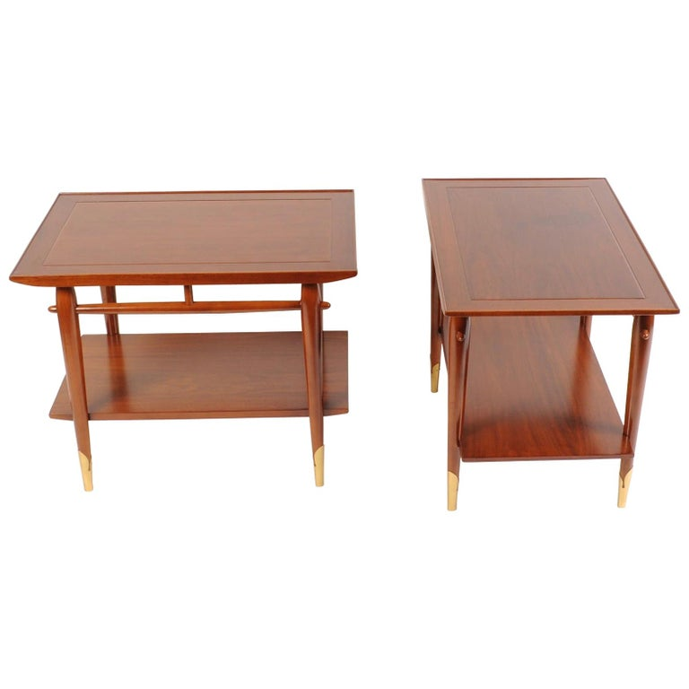 Mid-Century Modern End Tables by Lane For Sale