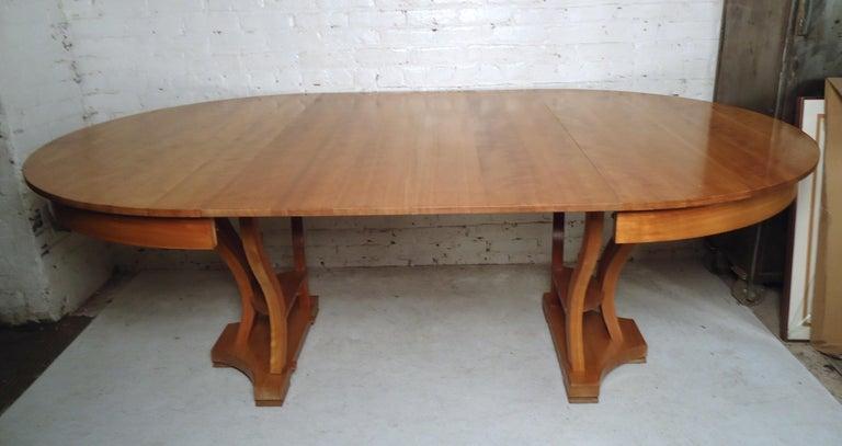 Mid-20th Century Mid-Century Modern Extendable Table