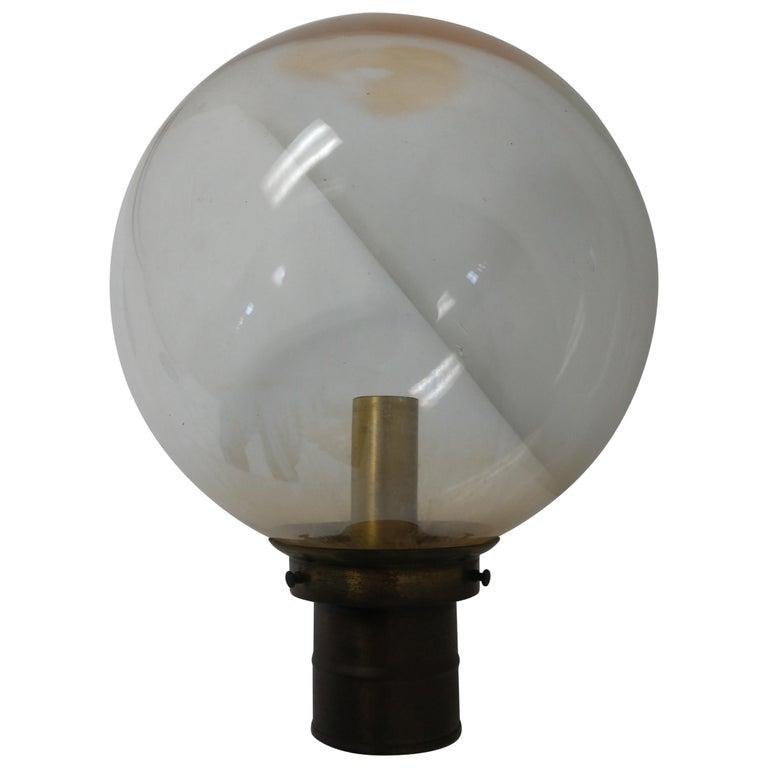 Mid Century Modern Exterior Lamp Post, Mid Century Modern Outdoor Light Post