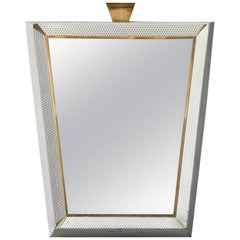 Mid-Century Modern Extra Large Illuminated Mirror