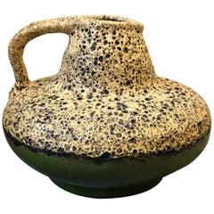 Mid-Century Modern Fat Lava Ceramic German Jug by Es Keramik, circa 1970