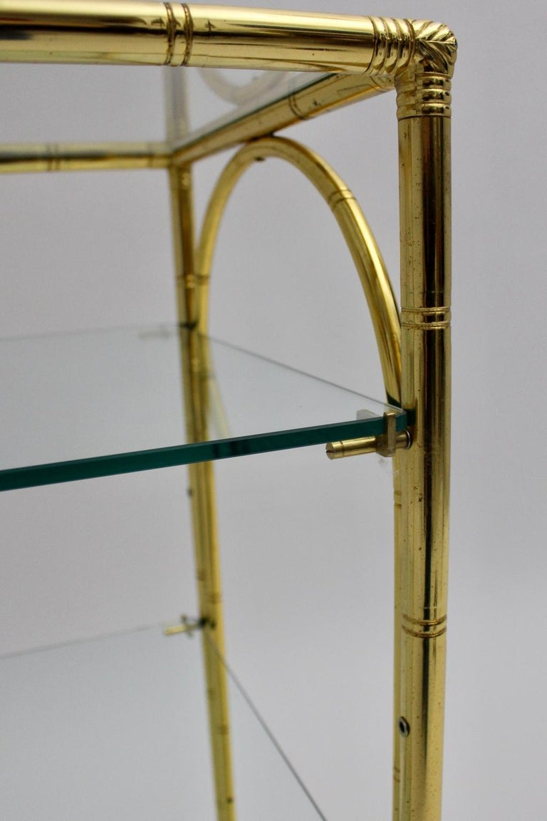 Mid-Century Modern Faux Bamboo Bar Cart by Maison Baguès Attributed, 1960s For Sale 6