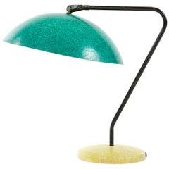 Mid-Century Modern Fiberglass Desk Lamp