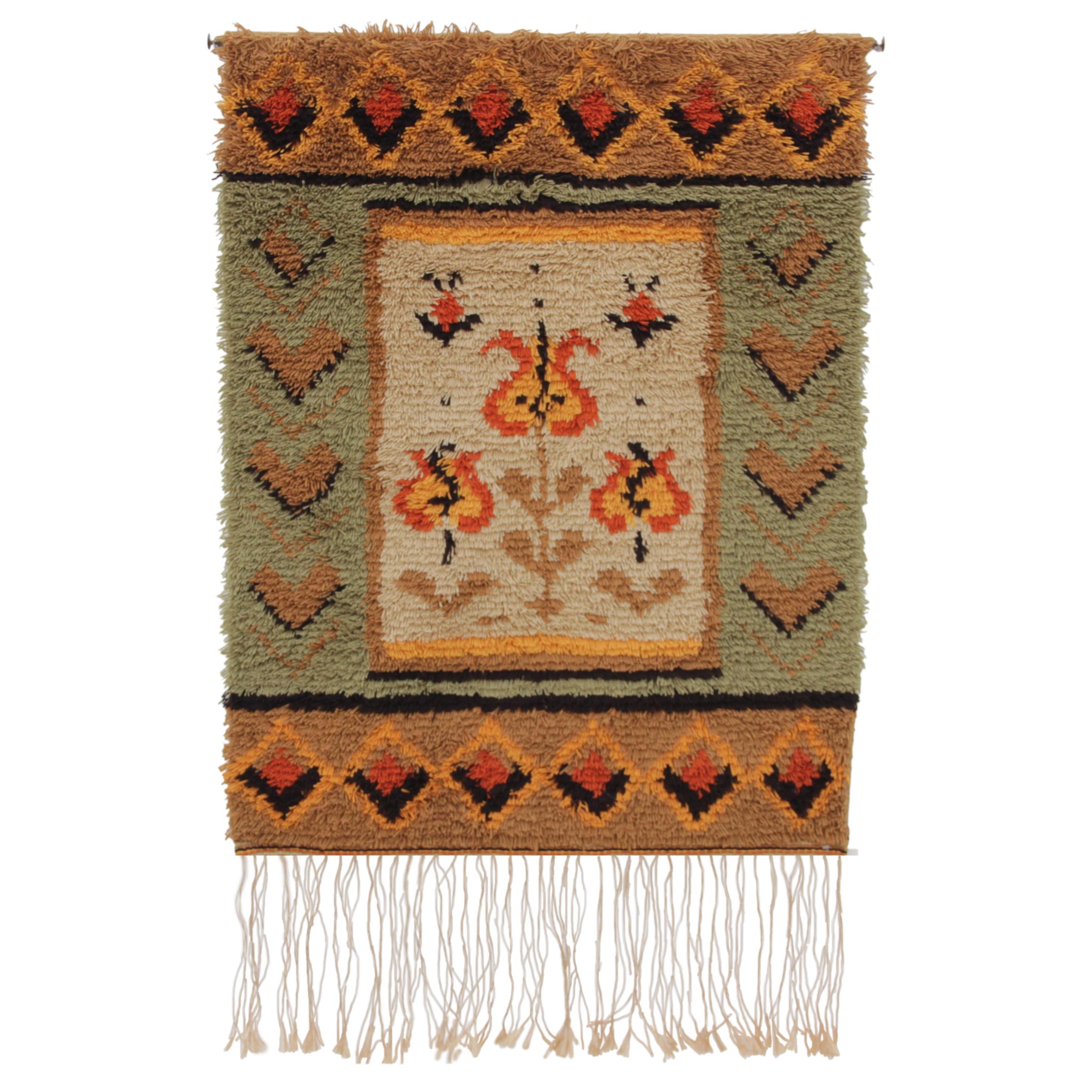 Mid-Century Modern Finnish Wall Tapestry