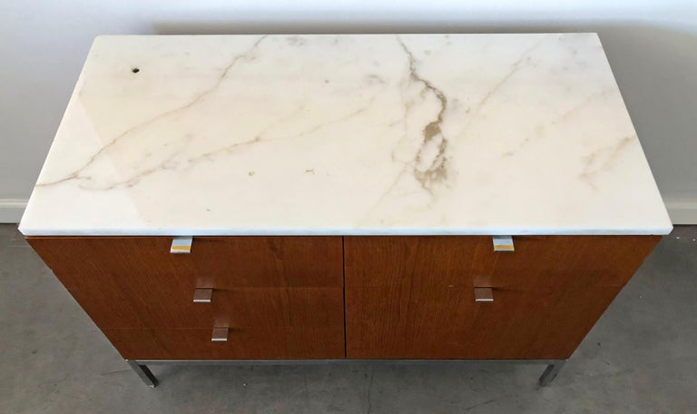 Mid-20th Century Mid-Century Modern Florence Knoll Credenza For Sale