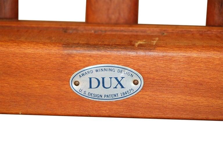 Mid-Century Modern Folke Ohlsson Dux Scissor Lounge Chairs, Pair For Sale 1