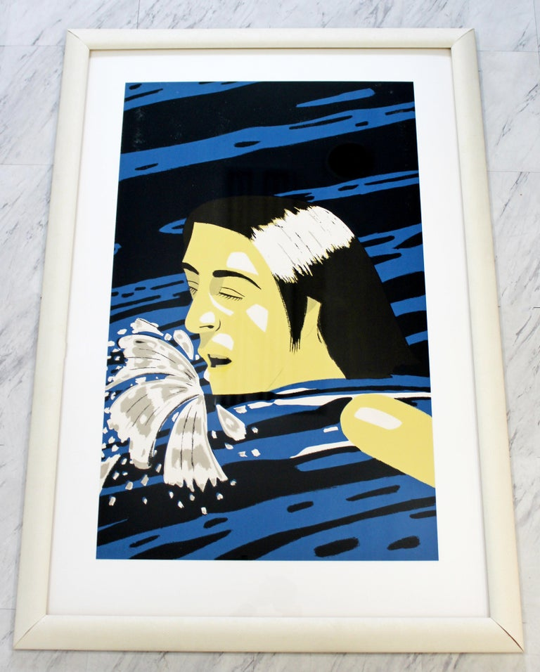 For your consideration is a framed, AP serigraph by Alex Katz, entitled