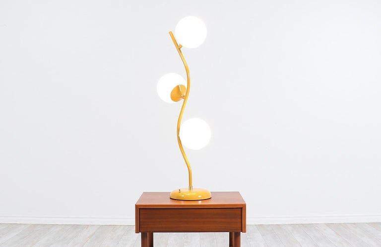 American Mid-Century Modern Freeform Table Lamp For Sale