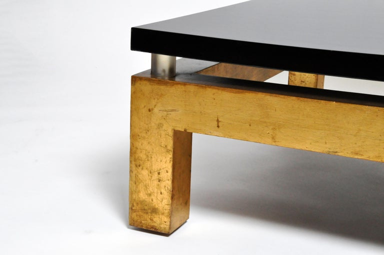 Mid-Century Modern French Coffee Table For Sale 2