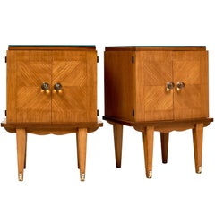 Mid-Century Modern French Side Tables