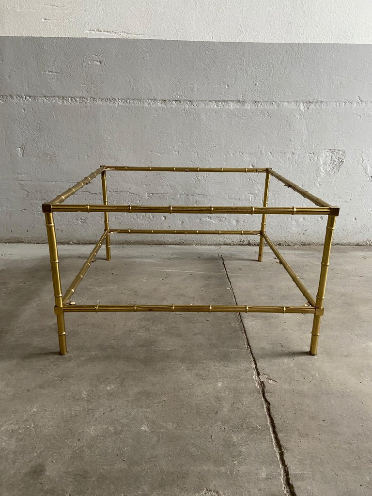 Mid-Century Modern French Two-Tier Maison Baguès Coffee or Sofa Table, 1960s For Sale 3